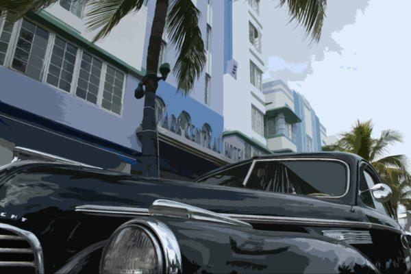 Florida - Miami Beach - Car