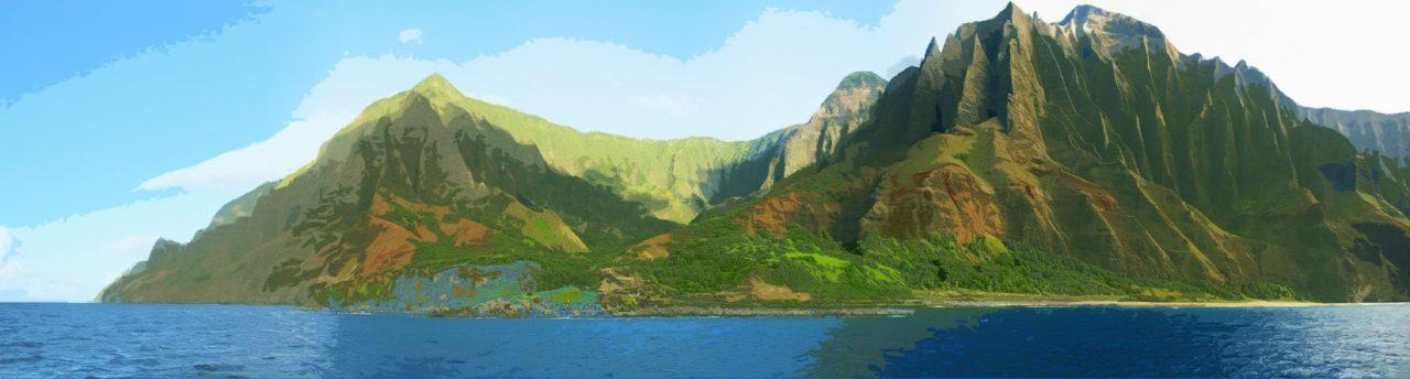Hawaï - Na Pali Coast - Kauai
