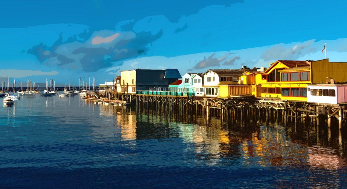 Monterey - Californie - Cannery Row