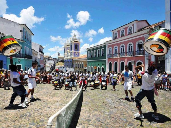 Carnaval de Salvador de Bahia au Brésil