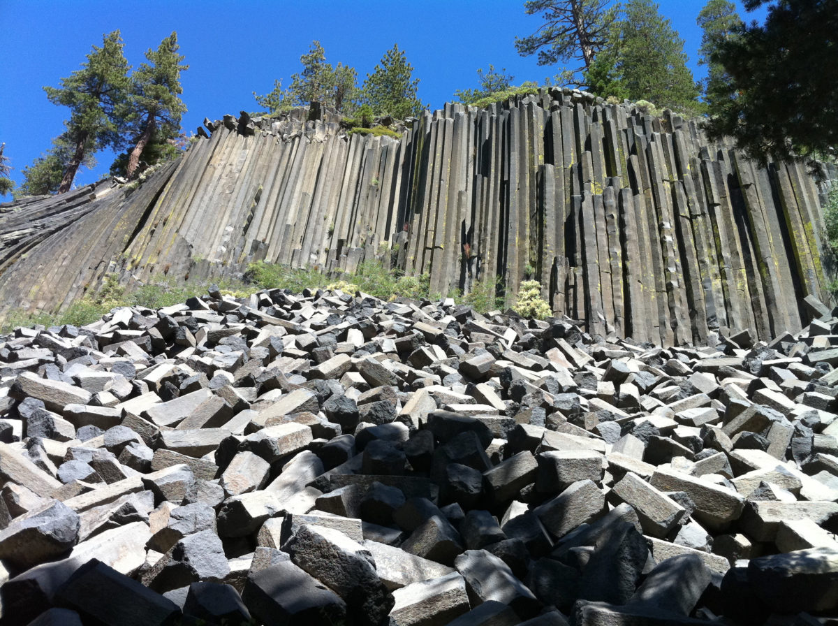 Mammoth Lakes Postpile National Monument