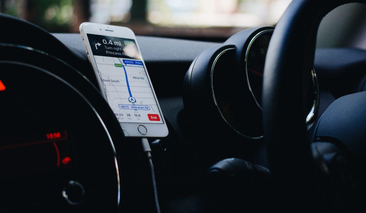 Application GPS smartphone