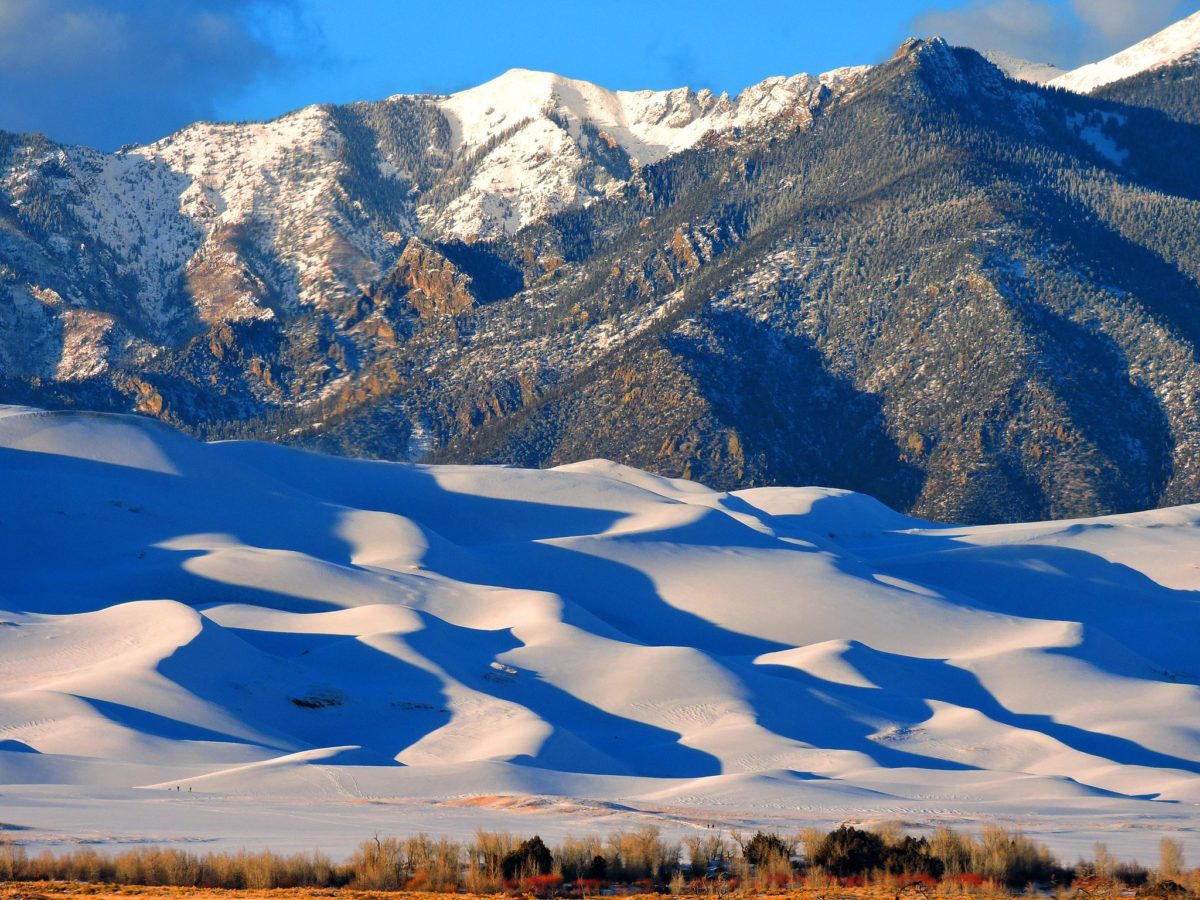 Great Sand Dunes - Winter