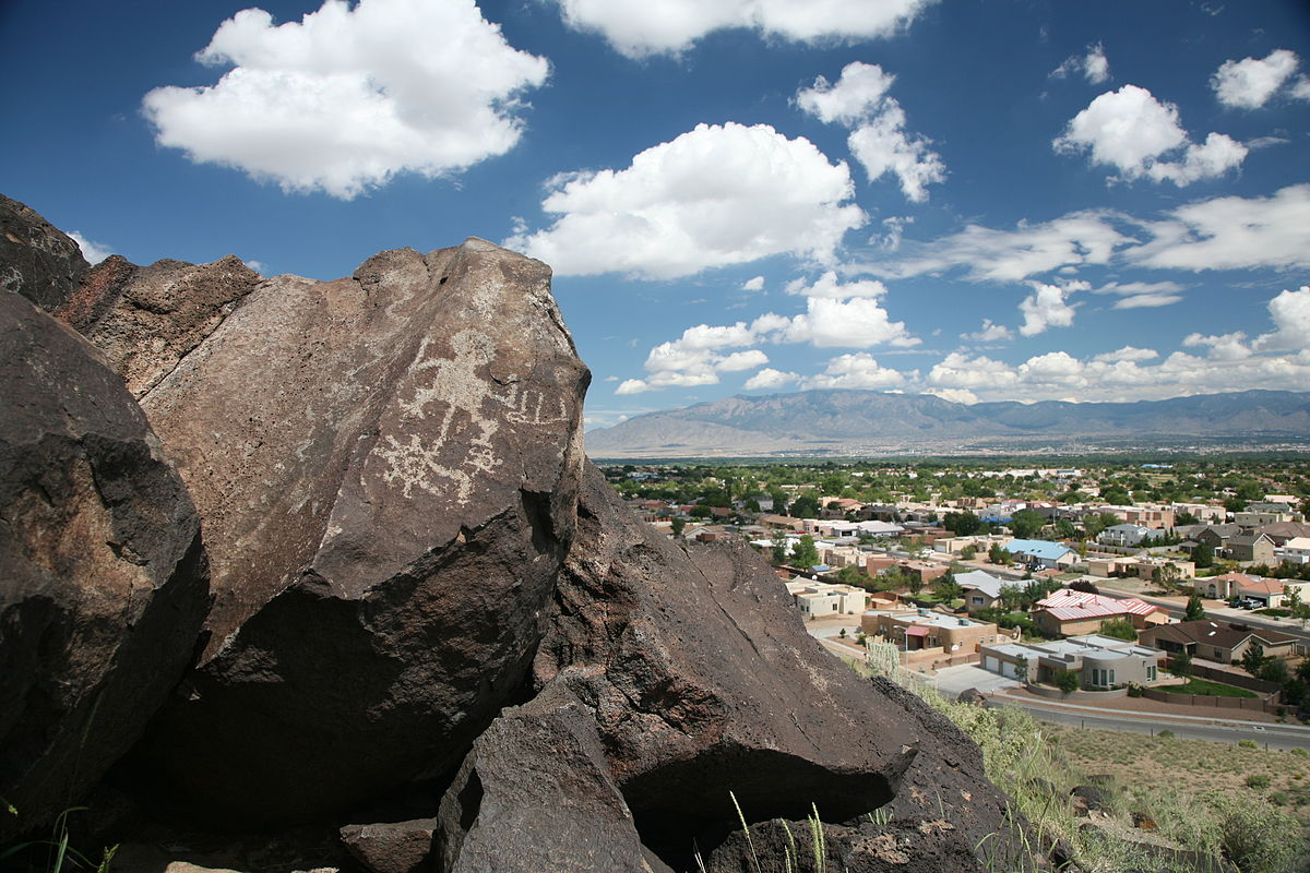 Nouveau-Mexique - Petroglyph National Monument