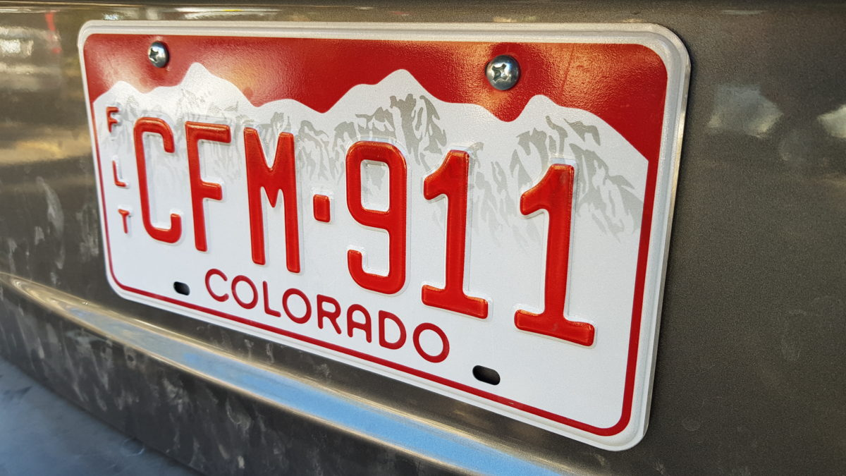 COLORADO - CAR
