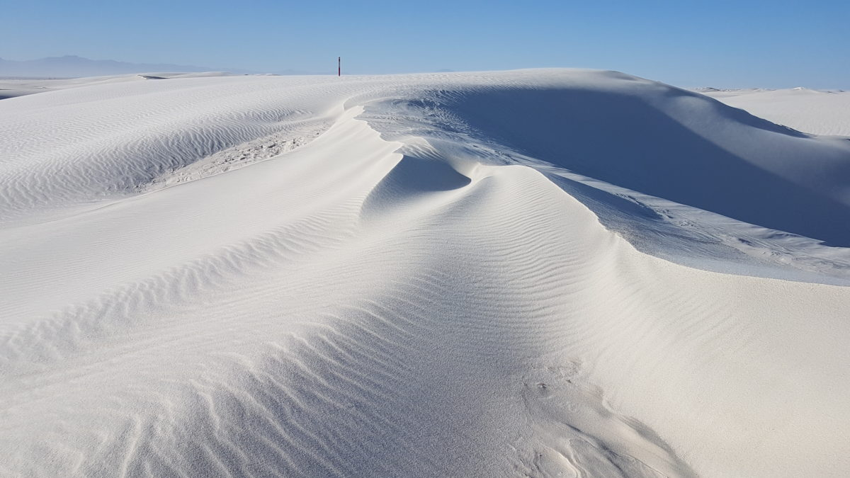 Nouveau-Mexique : White Sand National Monument
