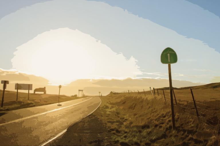 Road Californie