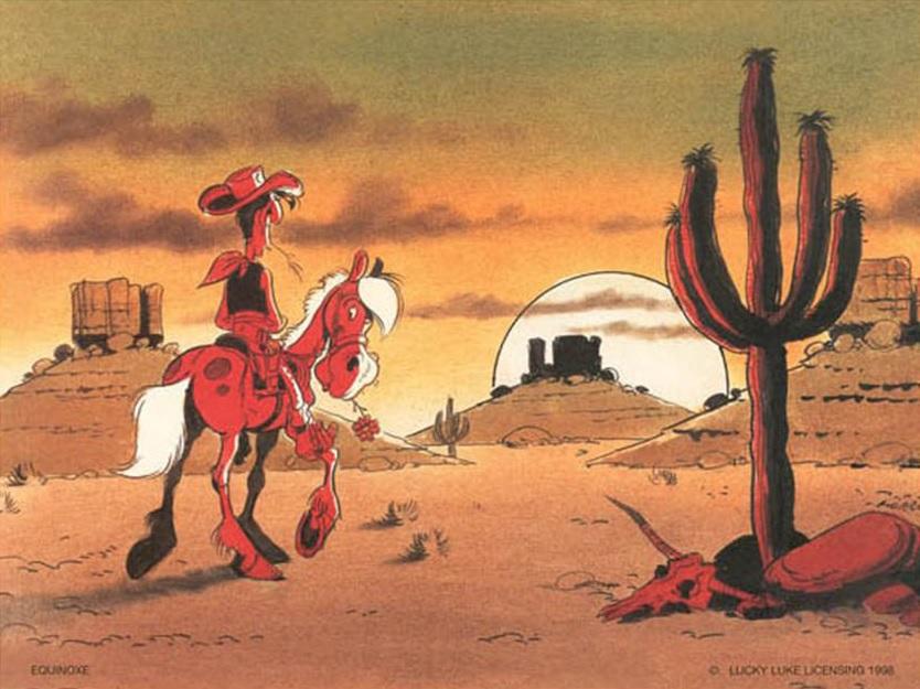 Lucky Luke - Morris - Monument Valley