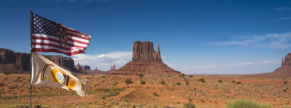 Monument Valley - Navajo Flag