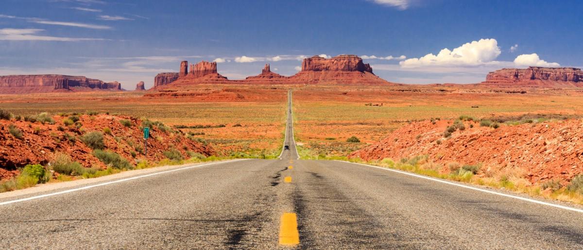 Utah - Monument Valley Road