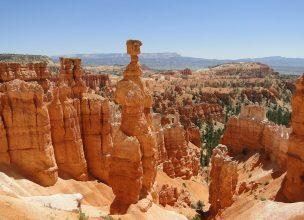 Vue sur le Bryce Canyon