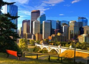 Ville Calgary - Rocheuses - Canada