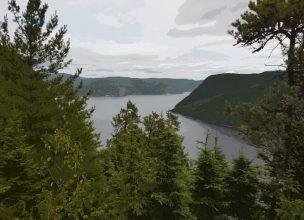 Canada - Fjord du Saguenay - Québec