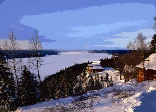 Canada - Saguenay - Hiver - Cap au Leste