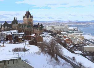 Canada - Saguenay - Hiver - Québec