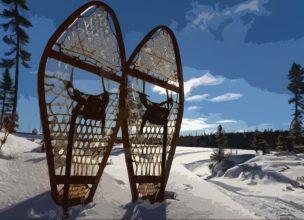 Canada - Saguenay - Hiver - Raquettes