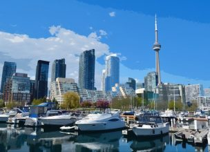 Canada - Toronto - Ontario - CN TOWER