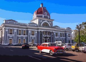 Cuba - Cienfuegos - Car