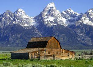 Rocheuses - Grand Teton Wyoming