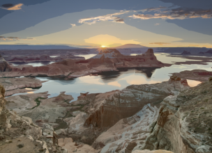 Lake Powell - Canyons