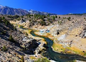 Mammoth lakes - Mammoth Hot Creek Geological Site
