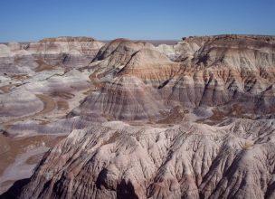 Arizona - Painted Desert - Blue Mesa