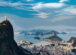 Brésil - Corcovado - Rio de Janeiro