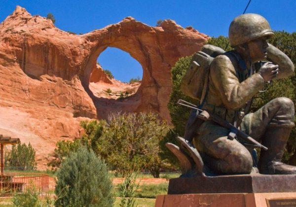 Window Rock Tribal Park & Veteran's Memorial - Arizona - Navajo Nation